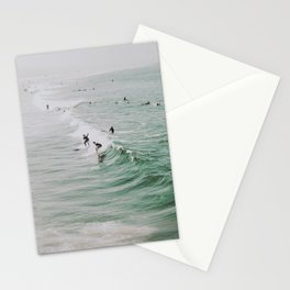 lets surf iv / venice beach, california Stationery Cards