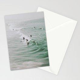 lets surf iv / venice beach, california Stationery Cards