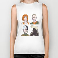 fifth element Biker Tanks featuring Fifth Element by enerjax