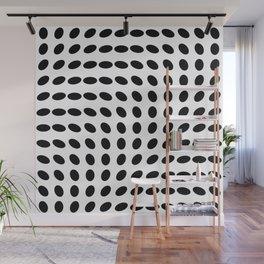 op art - dots rotate Wall Mural