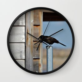 Just Stopped By Wall Clock