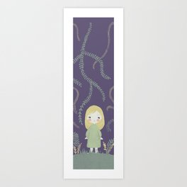 Mary quite contrary Art Print