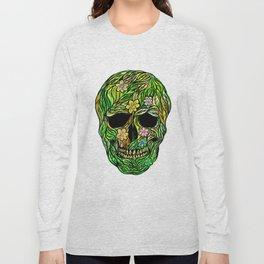 Skull Nature Long Sleeve T-shirt