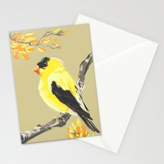 Yellow Finch Stationery Cards