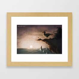 """I am a flightless bird…"" Framed Art Print"