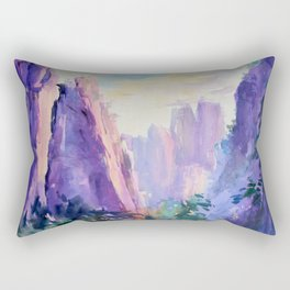 Chinese Water-colour painting Rectangular Pillow
