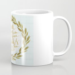 ISAIAH TWENTY SIX VERSE THREE II. (26:3) JUBIL PRINTS Coffee Mug
