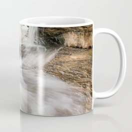 Elliot Falls on Miners Beach - Pictured Rocks, Michigan Coffee Mug