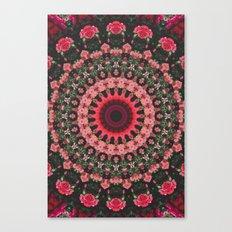 Spiritual Rhythm Mandala Canvas Print