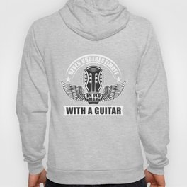 An Old Man With Guitar Hoody
