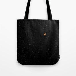 Orange Astronaut In Space  Tote Bag