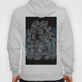 Elegant Stone Whirlwind Earth Elements Abstract Hoody