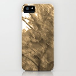 Treeage I - Sepia iPhone Case
