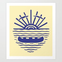 A NEW WAVE Art Print