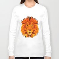 courage Long Sleeve T-shirts featuring Courage by jenkydesign