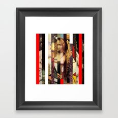 Stars in stripes 1+  Framed Art Print