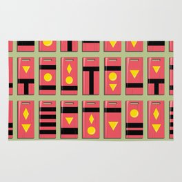 Spirited Away Inspired Bath Token Pattern Rug