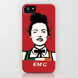 Katie McGrath - KMcG iPhone Case