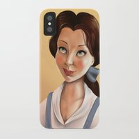 belle iPhone & iPod Cases featuring Belle by Sam Pea