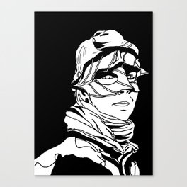 Leaf girl Canvas Print