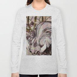 cute piggy Long Sleeve T-shirt