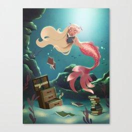 Sunken Library Canvas Print
