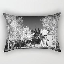 Infrared Art Center Rectangular Pillow