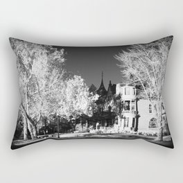 Infrared Art Center Rectangular Pillow