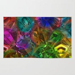 Colorful Crysal Rug