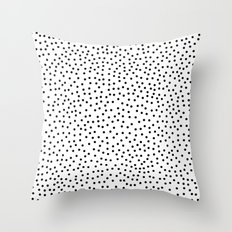 Dots.. Throw Pillow