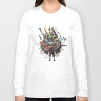 skyrim Long Sleeve T-shirts featuring Let me guess, someone stole your sweetroll by Fightstacy