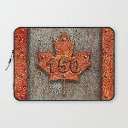 Iron Maple Leaf. Laptop Sleeve