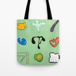 Sinx Mint (oil on canvas) Tote Bag