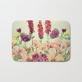 Floral Field Bath Mat