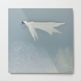 Afloat (Water Woman X) Metal Print