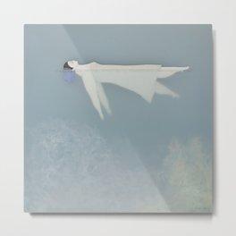 Afloat (Water Woman X) Metal Print