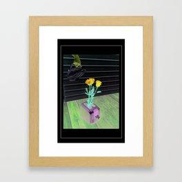Sense? Framed Art Print