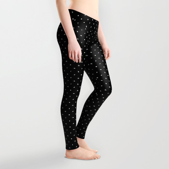 Polka Probes (small print) Leggings