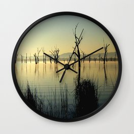 The Keepers of the Lake Wall Clock
