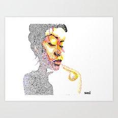 Dotts Art Print