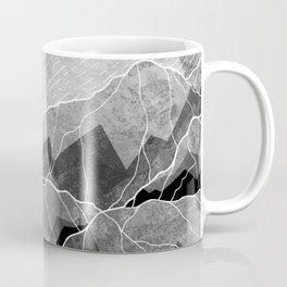 Mountains of silver and grey Coffee Mug