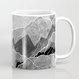Mountains of silver and grey Coffee Mug