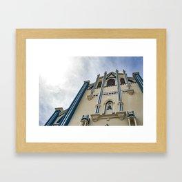 La Capilla Maria Auxiliadora Gothic Style Catholic Church, Granada, Nicaragua Framed Art Print