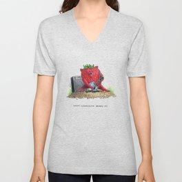 What Woodchuck Berry Do Unisex V-Neck