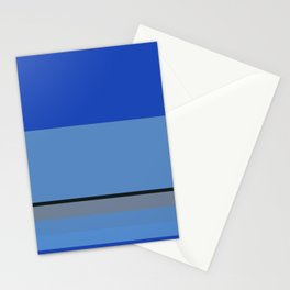 Mountain Bluebird Color Pallet Stationery Cards