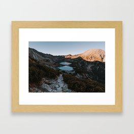 Mountain Ponds - Landscape and Nature Photography Framed Art Print