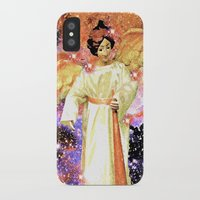 angels iPhone & iPod Cases featuring Angels by Saundra Myles