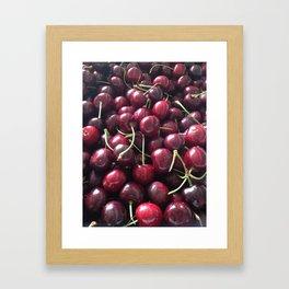 Bubba's cherries Framed Art Print