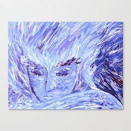 Frozen Man Canvas Print