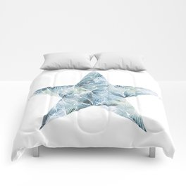 Frosted Star Comforters